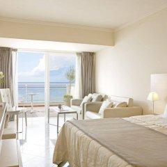 Отель Pelekas Beach (side Sea View - Half Board) Греция, Корфу - отзывы, цены и фото номеров - забронировать отель Pelekas Beach (side Sea View - Half Board) онлайн комната для гостей фото 2