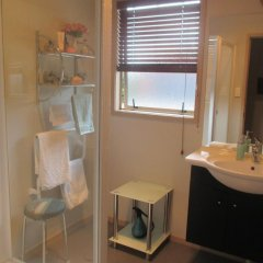 Отель Kauri Lodge Farmstay ванная