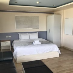 Отель The Beach Front Resort Pattaya комната для гостей фото 3