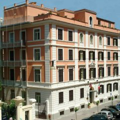 Hotel Delle Vittorie вид на фасад фото 2