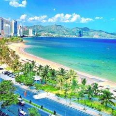 Отель 999 CONDOTEL Muong Thanh Vien Trieu Нячанг пляж фото 2
