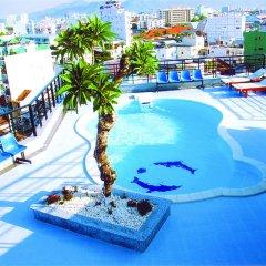 Nhat Thanh Hotel бассейн