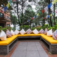 Отель Club Himalaya Непал, Нагаркот - отзывы, цены и фото номеров - забронировать отель Club Himalaya онлайн приотельная территория