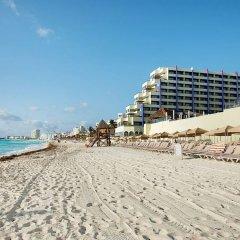 Отель Crown Paradise Club Cancun - Todo Incluido пляж фото 2