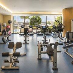 Отель Swissotel Al Ghurair Dubai Дубай фитнесс-зал фото 3