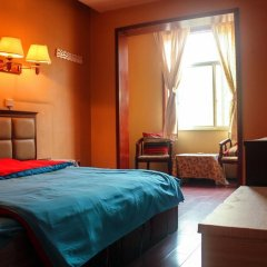 Dengba Hostel Chengdu Branch комната для гостей фото 3