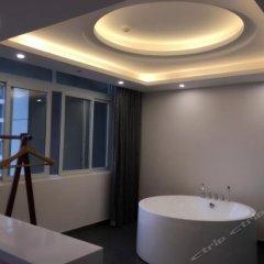 Отель 7 Days Hotel (Chongqing Shuangfu Times Plaza) Китай, Шуанфу - отзывы, цены и фото номеров - забронировать отель 7 Days Hotel (Chongqing Shuangfu Times Plaza) онлайн ванная