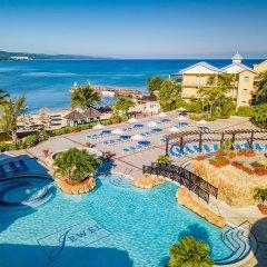 Отель Jewel Paradise Cove Adult Beach Resort & Spa Ямайка, Сент-Аннc-Бей - отзывы, цены и фото номеров - забронировать отель Jewel Paradise Cove Adult Beach Resort & Spa онлайн бассейн фото 2