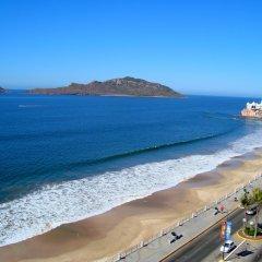 Отель Don Pelayo Pacific Beach пляж