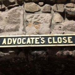 Отель Advocates Close Эдинбург городской автобус