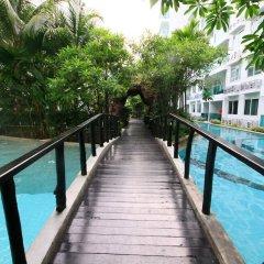 Отель Amazon Condo & Water Park Pattaya Паттайя приотельная территория
