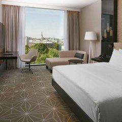 Отель Hilton Tallinn Park комната для гостей фото 4