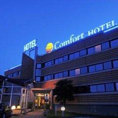 Отель Comfort Hotel Toulouse Sud Франция, Рамонвиль-Сент-Ань - отзывы, цены и фото номеров - забронировать отель Comfort Hotel Toulouse Sud онлайн вид на фасад