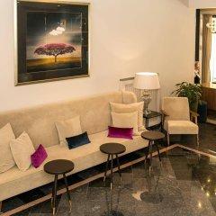 Ambra Hotel Будапешт интерьер отеля