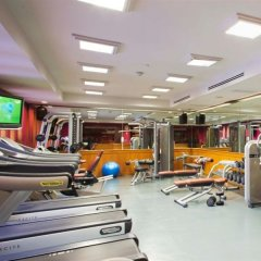 Отель Crowne Plaza Lumpini Park Бангкок фитнесс-зал фото 2