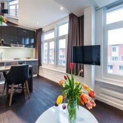 Отель East Quarter Apartments Нидерланды, Амстердам - отзывы, цены и фото номеров - забронировать отель East Quarter Apartments онлайн комната для гостей фото 2