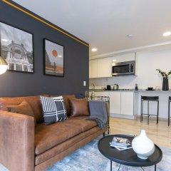 Апартаменты Brand New Studio in Perfect Location! Мехико комната для гостей