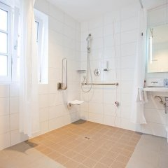 Отель WEICHANDHOF Мюнхен ванная фото 2