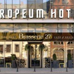 Europeum Hotel вид на фасад фото 2