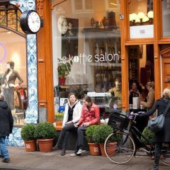 Отель Dahli's Boutique Apartments Нидерланды, Амстердам - отзывы, цены и фото номеров - забронировать отель Dahli's Boutique Apartments онлайн гостиничный бар