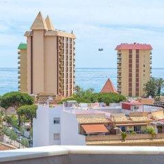 Отель Aparthotel Veramar пляж