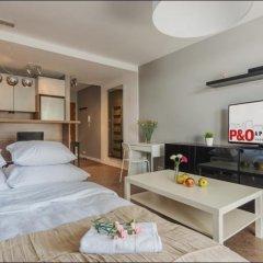 Отель P&O Apartments Metro Wilanowska 2 Польша, Варшава - отзывы, цены и фото номеров - забронировать отель P&O Apartments Metro Wilanowska 2 онлайн комната для гостей фото 4
