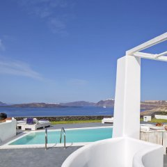Отель Santorini Princess Presidential Suites Греция, Остров Санторини - отзывы, цены и фото номеров - забронировать отель Santorini Princess Presidential Suites онлайн бассейн фото 3