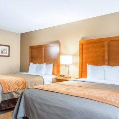Отель Comfort Inn North/Polaris США, Колумбус - отзывы, цены и фото номеров - забронировать отель Comfort Inn North/Polaris онлайн комната для гостей фото 5