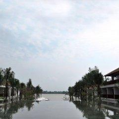 Отель Vinh Hung Emerald Resort Хойан приотельная территория