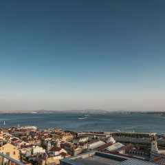Отель Verride Palácio Santa Catarina пляж