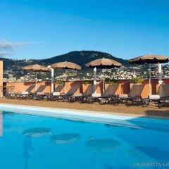 Отель Novotel Nice Centre Франция, Ницца - 2 отзыва об отеле, цены и фото номеров - забронировать отель Novotel Nice Centre онлайн бассейн фото 2