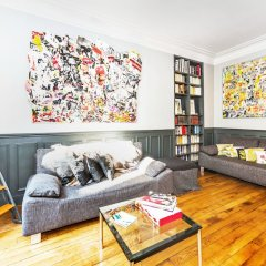 Апартаменты Hip Classic And Central Apartment Париж комната для гостей фото 4