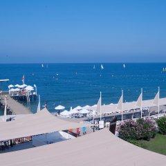 Отель Crystal Flora Beach Resort – All Inclusive пляж фото 2