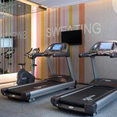 Отель Mercure Shanghai Hongqiao Airport фитнесс-зал фото 2