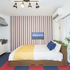 Residence Hotel Hakata 18 Фукуока комната для гостей фото 3