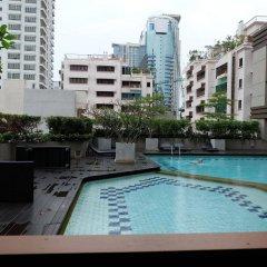 Отель Bliston Suwan Park View Таиланд, Бангкок - отзывы, цены и фото номеров - забронировать отель Bliston Suwan Park View онлайн бассейн фото 2