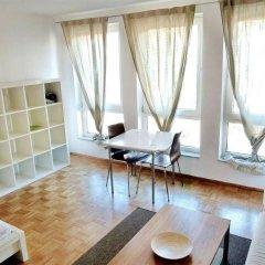 Апартаменты Pfefferbett Apartments Regierungsviertel Берлин комната для гостей фото 5