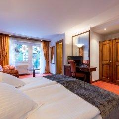 Отель Parkhotel Beau Site Швейцария, Церматт - отзывы, цены и фото номеров - забронировать отель Parkhotel Beau Site онлайн удобства в номере фото 2