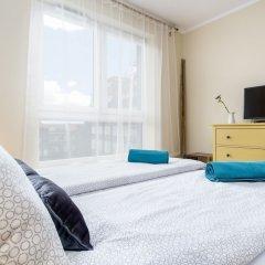 Апартаменты Elite Apartments Cityview Center Гданьск комната для гостей фото 2