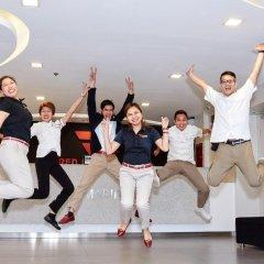 Отель Red Planet Manila Mabini Филиппины, Манила - 1 отзыв об отеле, цены и фото номеров - забронировать отель Red Planet Manila Mabini онлайн фитнесс-зал