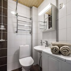 Отель Citykoti Downtown Apartments Финляндия, Хельсинки - отзывы, цены и фото номеров - забронировать отель Citykoti Downtown Apartments онлайн ванная
