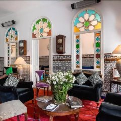 Отель Dar Slama Марокко, Танжер - отзывы, цены и фото номеров - забронировать отель Dar Slama онлайн интерьер отеля фото 2
