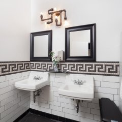 Отель Chelsea Cabins США, Нью-Йорк - отзывы, цены и фото номеров - забронировать отель Chelsea Cabins онлайн ванная