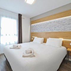 Отель Residhotel Lyon Part Dieu Франция, Лион - 2 отзыва об отеле, цены и фото номеров - забронировать отель Residhotel Lyon Part Dieu онлайн комната для гостей