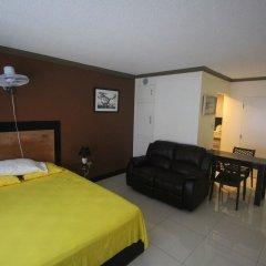Отель High Tides Beach Studio Ямайка, Монтего-Бей - отзывы, цены и фото номеров - забронировать отель High Tides Beach Studio онлайн комната для гостей фото 5