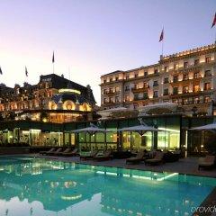 Отель Beau-Rivage Palace бассейн