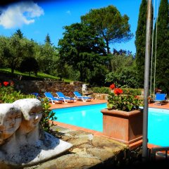 Отель Fattoria Il Milione бассейн