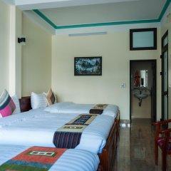 Sapa Peaceful Hotel комната для гостей
