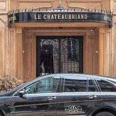 Отель Hôtel Chateaubriand Champs Elysées Париж фото 3