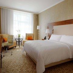 Гостиница Marriott Novy Arbat Москва комната для гостей фото 5